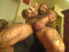 Muskel- bear with Monsterschwanz