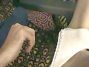 masturbando vestindo lingerie gfs e calcinha jogo anal com vibrador view1