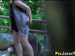 Asians squat and piss