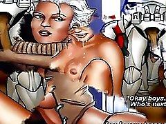 Guerra nas Estrelas a pornografia hentai parody