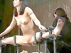 Taistelu tytöt rangaistaan ja perse perseestä
