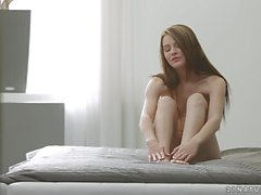 Lucianna Karel gets horny when her feet are played with