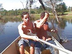 Göl vidalama hunks
