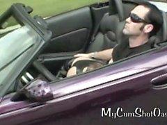 Hot Geile Mädchen in der schnelle Autos