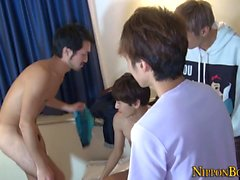Homosexuell japanische Twinks saugen