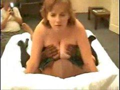 Redhead Рассвет в межрасовый секс втроем