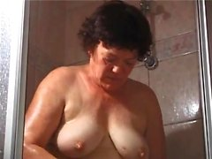 Edith 62 masturbates as if she is 18