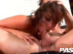 Tory Lane just loves sucking her boyfriend's dick and she
