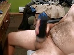 Jerking off and then using my Fleshlight!