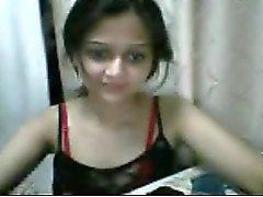 Söt indisk flicka