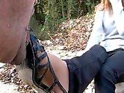 Lechage de saleté chaussures de