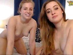 Lesbian Strapon Amateur Blonde