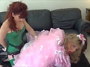 Madame C fucks the pink sissymaid Angelica