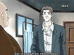 Bigboobs Hentai мамой горячей трахает ней боссу