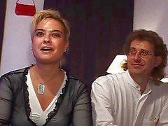 Deutsch Couple mit einer Transsexueller