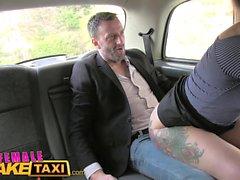 Female Fake Taxi Belgium porn stud fucks sexy cabbie