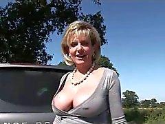 Cuisses ouvertes extérieur De larges