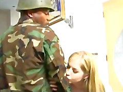 Haley Scott Gets BBC From A Toy Soldier
