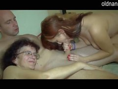 Old mom and young beauty blowjo 1fuckdatecom