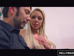 KELLY MADISON Bimbo MILF Nina Elle seduce al artista