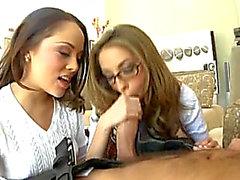 Vídeos porno HD de Jenna Haze & f ängstliche Kristina Rose bedrohlich-bedrohlich Anal Academics