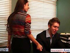 Vollbusig Büro Baby Yurizan Beltrán verdammten