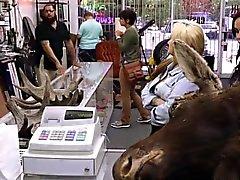 Lesbians Pfandleiher ihre Esel