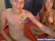 Big Tittied Latina Tran Blowjobs Su Hombre