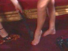 Nikki Benz Lesbe Fuß-Fetisch- Fantasien