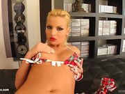 Watch masturbate Eve Smilie on Give Me Pink gonzo style