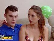 BANGBROS - Stepmom Bianca Breeze Bangs Daughter Jade Nile's Boyfriend