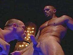 Großen Muskel Homosexuell Arsch Bohrer
