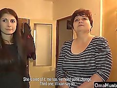 vovós OmaHunter maduros testado por adolescente