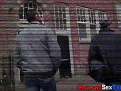 Nederländska haken får cumshot