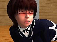 Импульсные - возбуждённый 3D Anime секс клипы