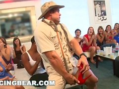 DANCINGBEAR - CFNM Hotel Party with Big Dick Male Strippers (db7169)