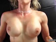Milf stockings threesome and mature dp creampie even using h