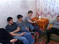 La madre quattro ragazzi