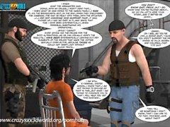 3D-Comic: Das Eyeland-Projekt 26. Der perfekte Sturm. Teil 2