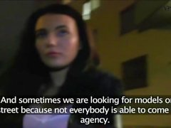 PublicAgent Czech girl loves sex in the dark