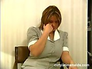 Latina maids seduced, Ariela