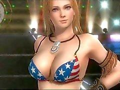 Kokoro & Tina Armstrong 3D de El sexo Elaboración