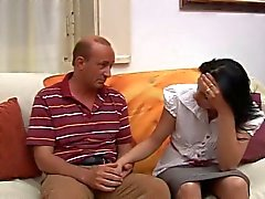 Italiaanse tiener met oude man