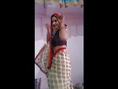 desi indiano bhabhi dança dança