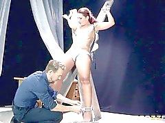 Dirty man making horny Savannah Fox squirt