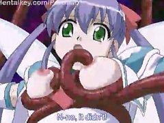 Lesbisch Anime Mädchen Groß Titten