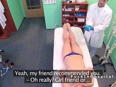 Doktor mavi tanga hastayı patlama