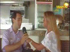 Sıcak dişi hayvan Scordamaglia Miami TV