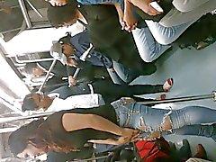 Rico Culo от Chica ан EL метро L 2 МХ recargada ан -эль- трубно