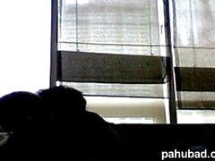 Cute Pinay Couple Webcam Fuck -